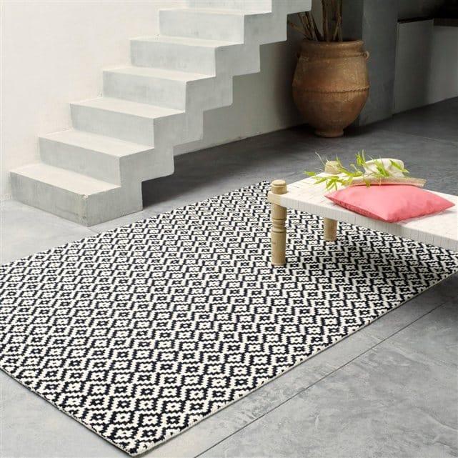 tapis graphique. Black Bedroom Furniture Sets. Home Design Ideas