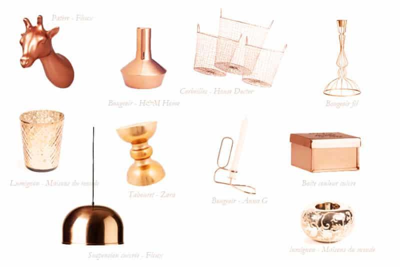 sélection cuivre