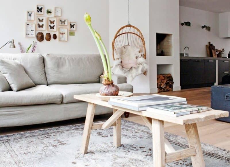 Un appartement rénové à Amsterdam