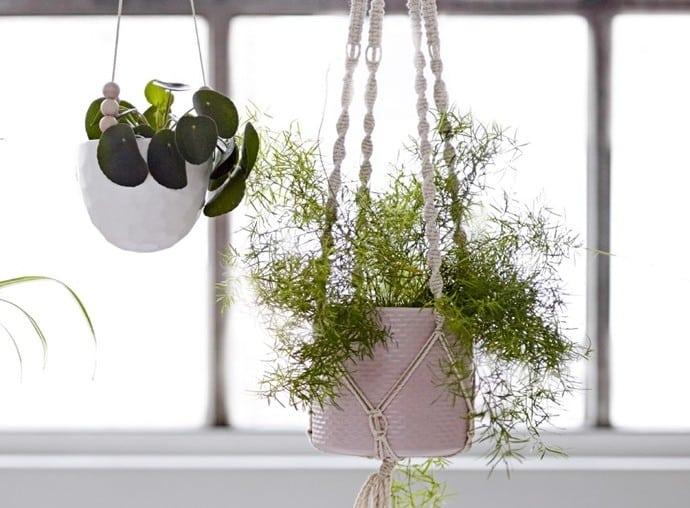 Objet déco : les vases suspendus
