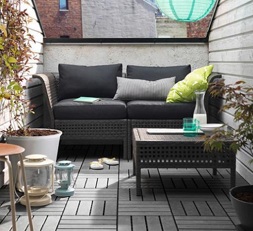 Des id es pour les balcons hemoon maison d coration for Muebles de exterior para balcon