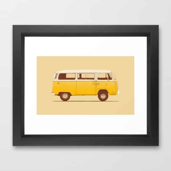 Yellow Van Speakerine Florent Bodart