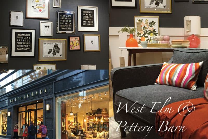 West Elm & Pottery Barn – Les adresses déco à NY #2