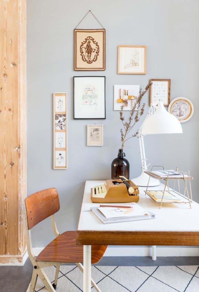 1-bureau-hout-wanddecoratie