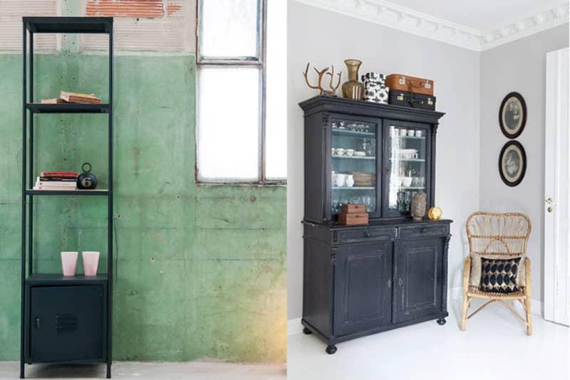 Le noir, couleur reine de nos meubles ?