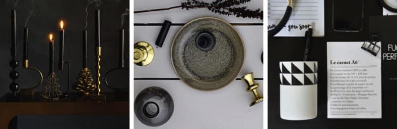 Bougeoir doré - Nilo - HEMOON - Maison & Décoration