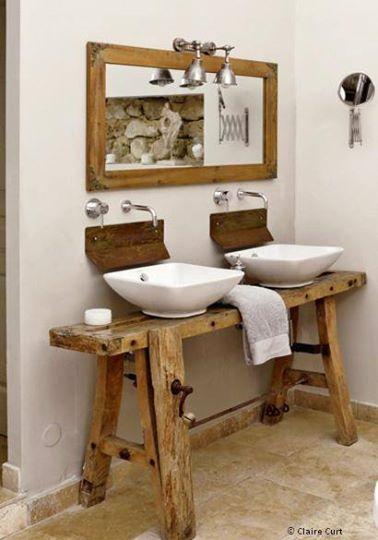 Inspiration de mai 1 nos r ves de salle de bain for Meuble salle de bain menuisier