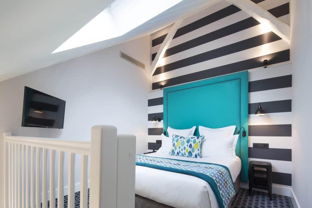 Top Floor Bleue