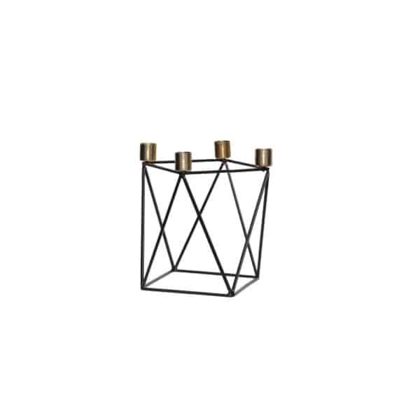 Bougeoir carré chic par HUBSCH - Hemoon : Maison & Décoration