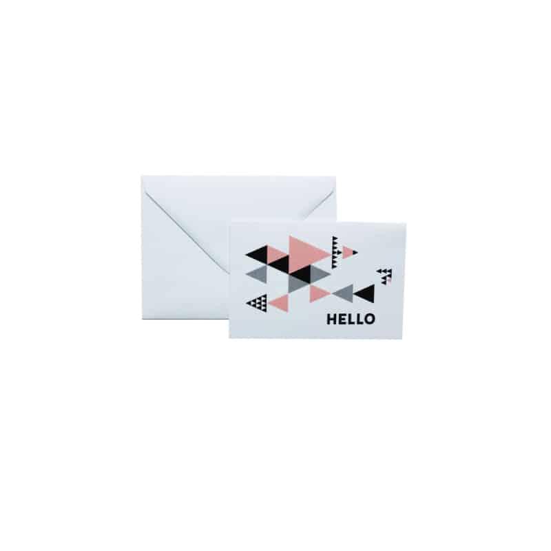 """Carte postale ou carte de voeux """"Hello"""" par MilieO"""