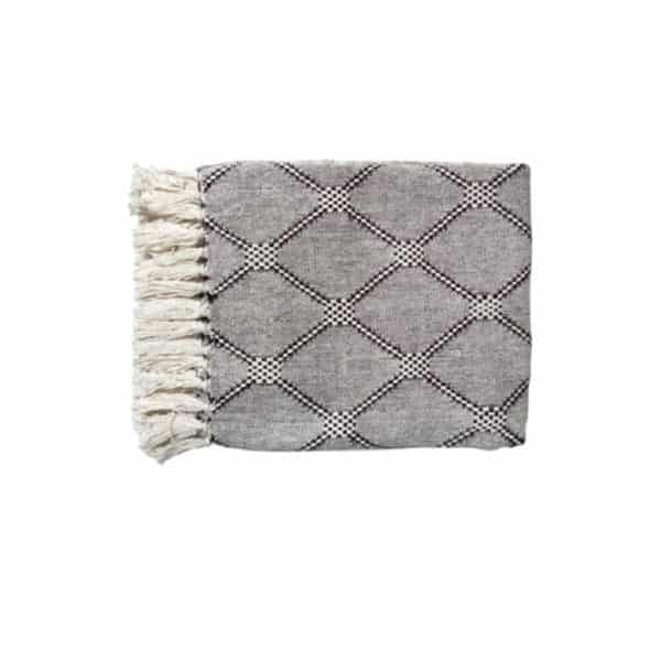 Plaid DIAMOND par HK LIVING - Textile et tapis - Hemoon