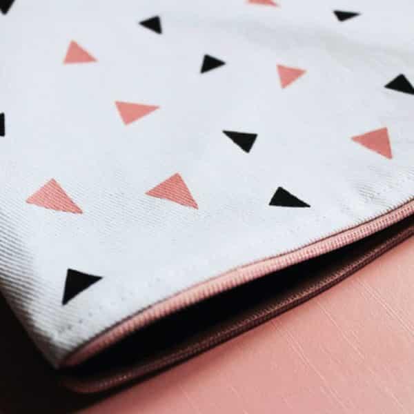 Pochette - Triangles - HEMOON - Maison & Décoration