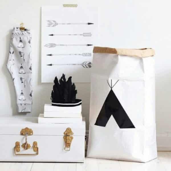 Sac en Papier - TIPI - HEMOON - Maison & Décoration