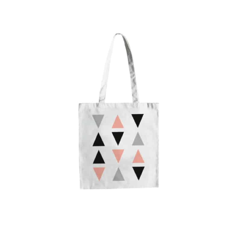 Tote Bag - Triangles - HEMOON - Maison & Décoration