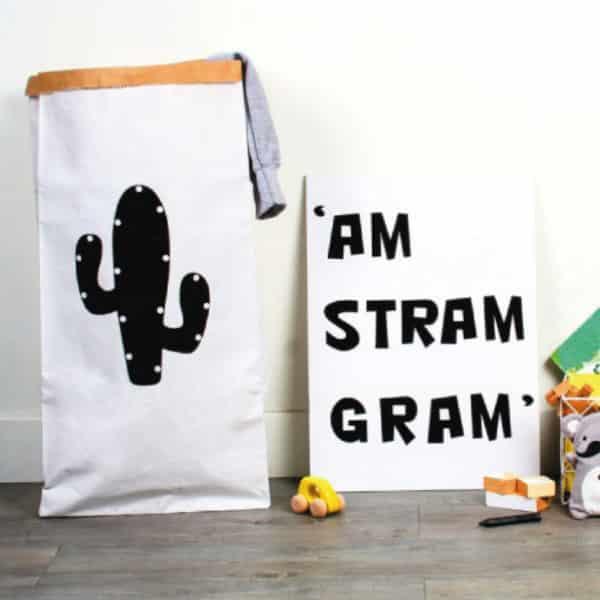 Sac en Papier - Cactus - HEMOON - Maison & Décoratio