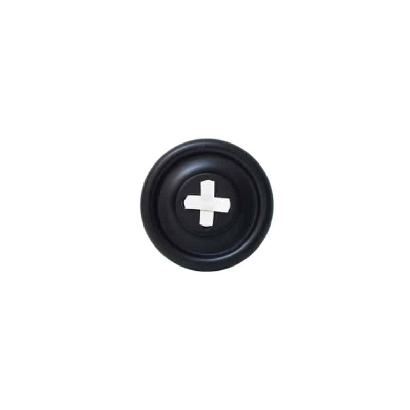 Patère bouton HK LIVING - Noir - Hemoon : Maison & Décoration