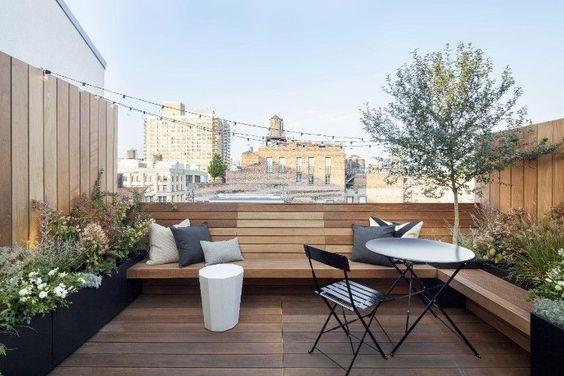 Les toits terrasses : Inspiration de Juillet #1