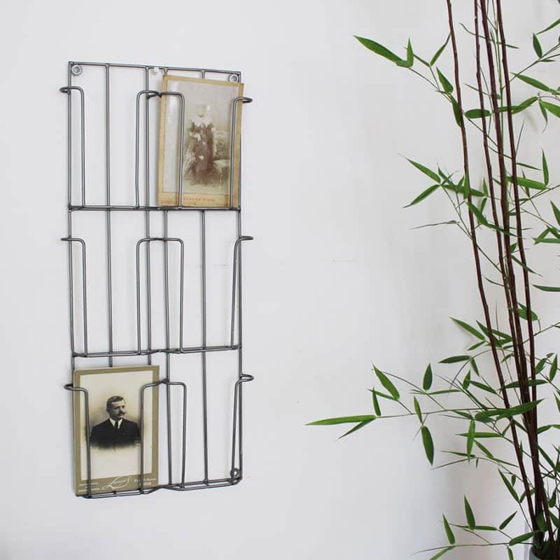 Porte cartes postales hemoon maison d coration - Rangement cartes postales ...