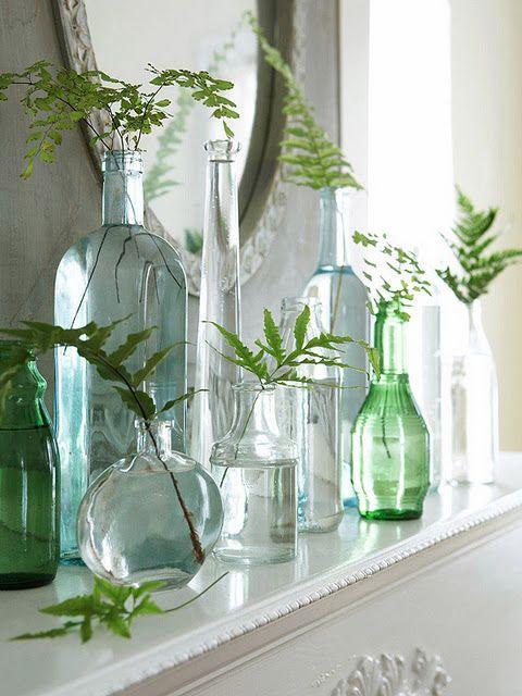 Vases dans la décoration intérieure