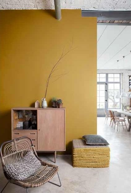 oser la couleur 1 l 39 ocre dor hemoon maison. Black Bedroom Furniture Sets. Home Design Ideas
