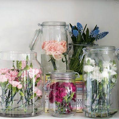 Accumuler des vases dans la décoration intérieure