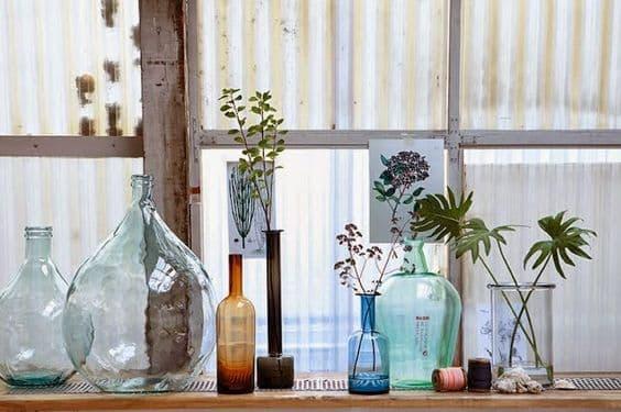 Les vases dans la décoration intérieure