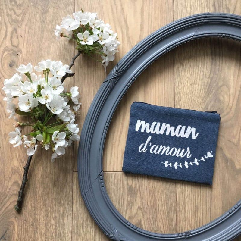 Pochette - Maman d'amour - HEMOON - Maison & Décoration