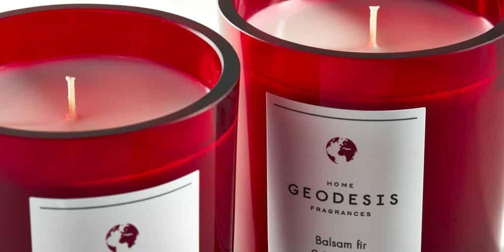 Bougies rubis par Geodesis