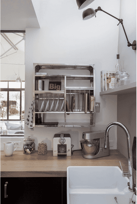visite privée Houzz, un ancien garage transformé en loft