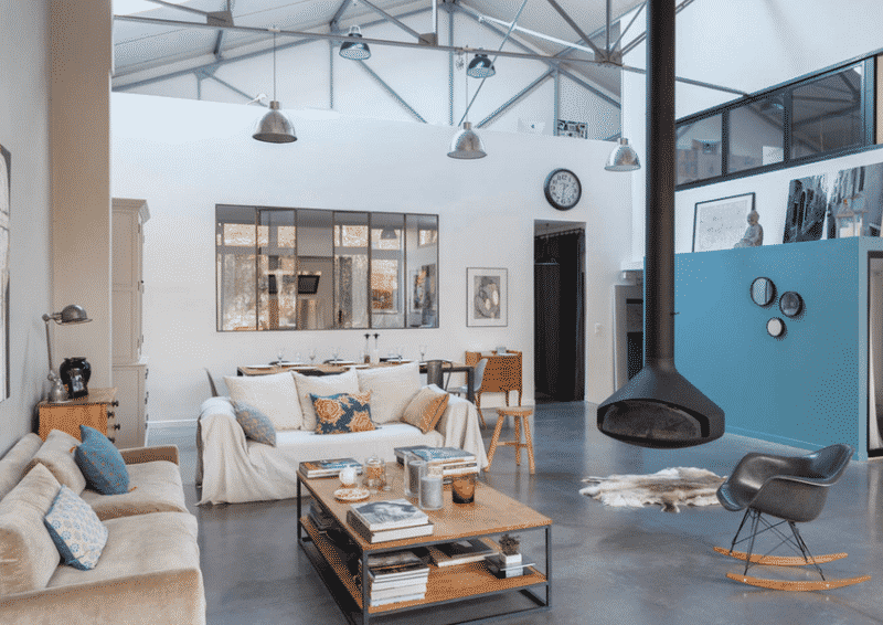 Rénovation d'un garage transformé en loft