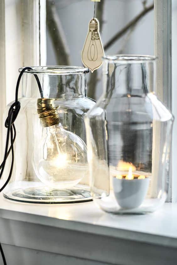 Des vases comme éléments de décoration intérieure