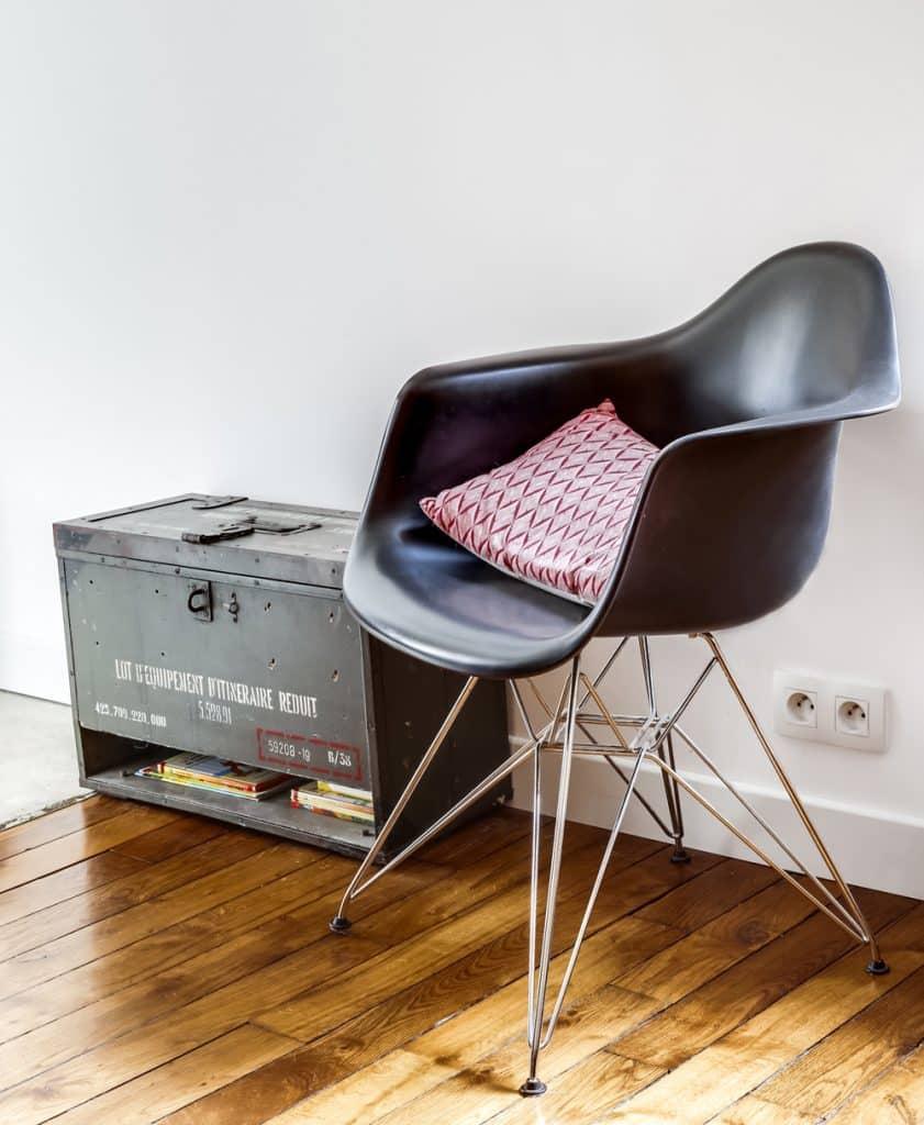 Fauteuil Eames chez Eline Sango Architecture