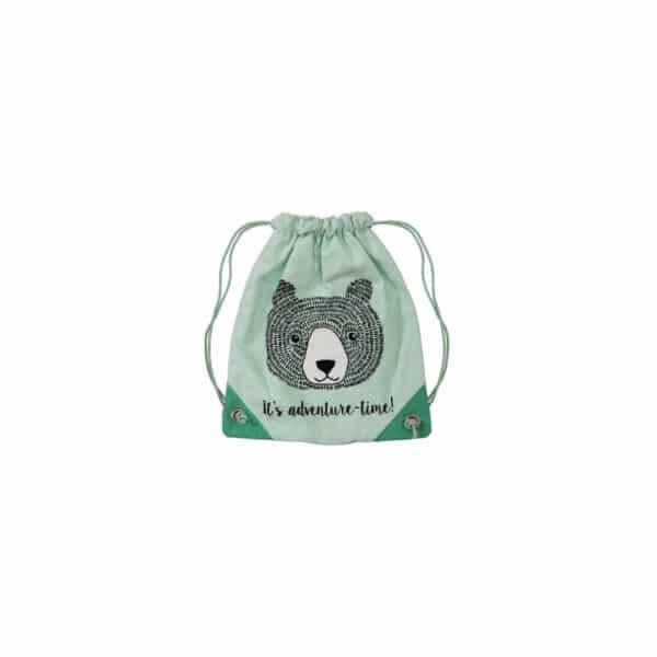 Petit sac à dos vert pour enfant - Bloomingville par Hemoon