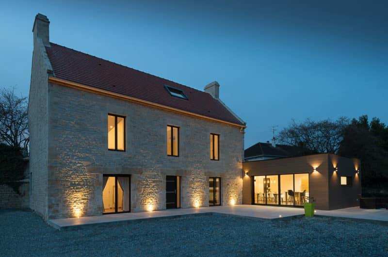 Rénovation d'une maison en Normandie