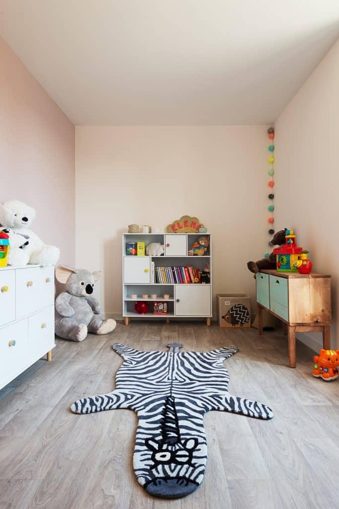 La chambre d'enfant : rénovation d'une maison