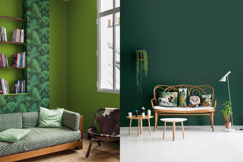 Le vert Greenery couleur de l'année 2017