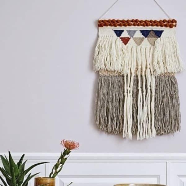 Grand tissage bohème par Bloomingville - HEMOON : Maison & Décoration