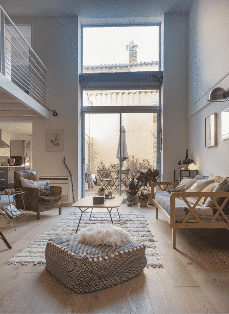 Visite privée façon loft chez Véronique Boissy