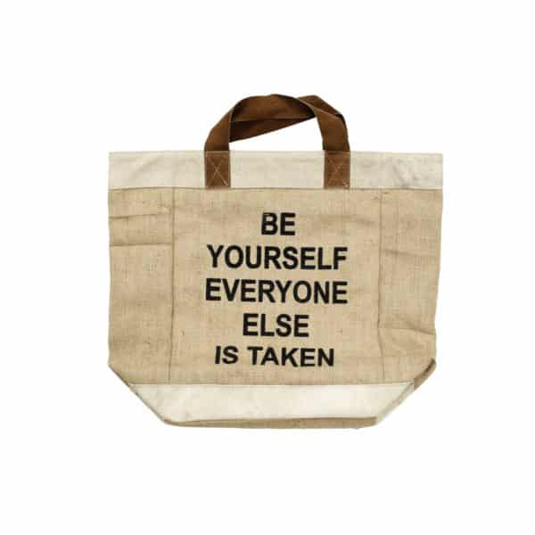 Sac Cabas - BE YOURSELF - HEMOON - Maison & Décoration