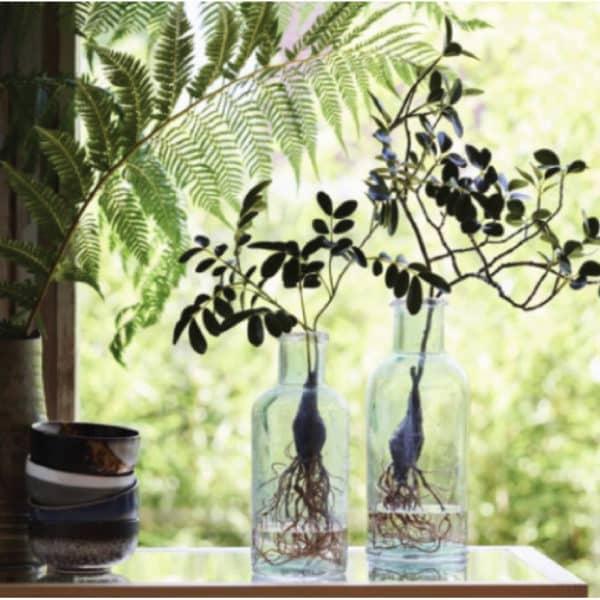 Vase en verre recyclé - Vase VERDI par HK LIVING