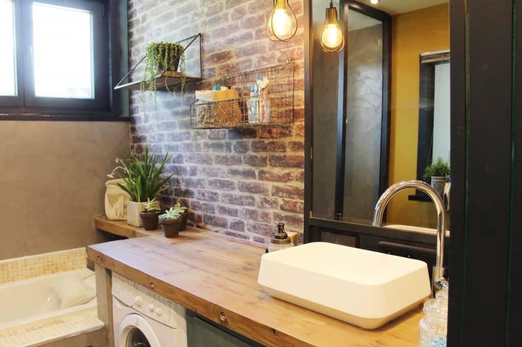 Rénovation de la salle de bain, les objets de décoration