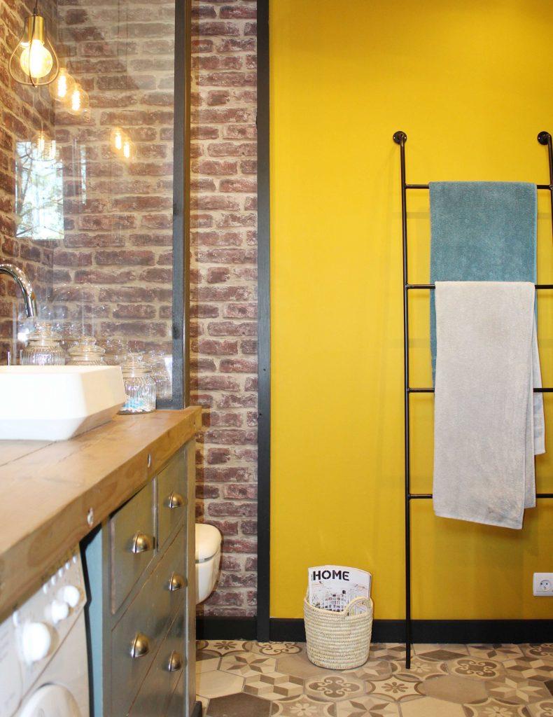 Rénovation de la salle de bain, échelle LA REDOUTE