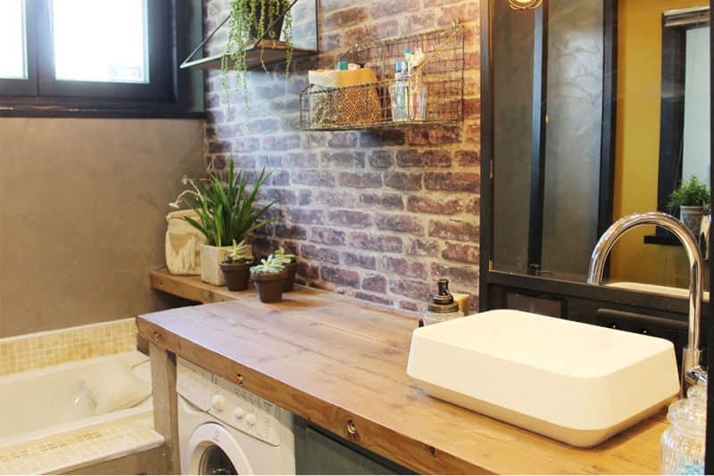 Chez Hemoon : la salle de bain