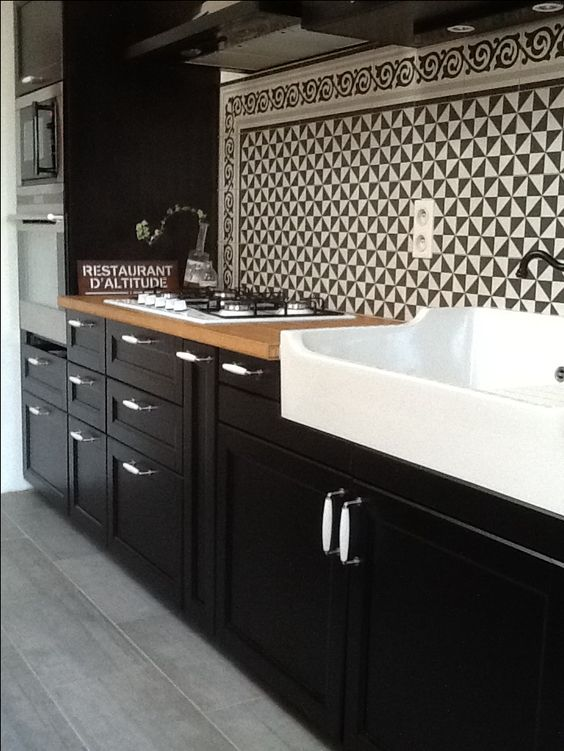 inspirations les cuisines bistrots hemoon maison d coration. Black Bedroom Furniture Sets. Home Design Ideas
