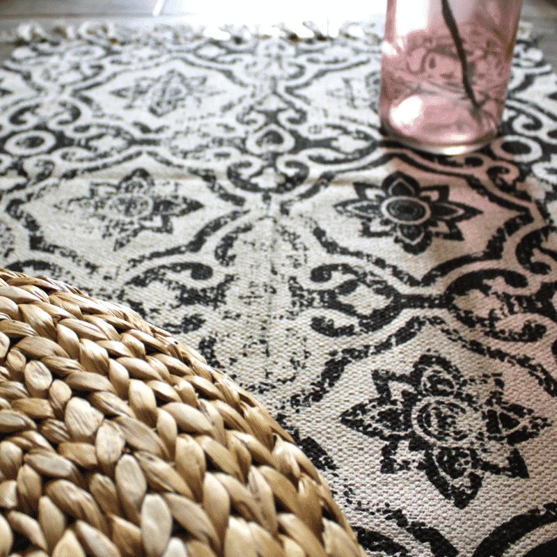 tapis de couloir motifs boh me hemoon maison d coration. Black Bedroom Furniture Sets. Home Design Ideas