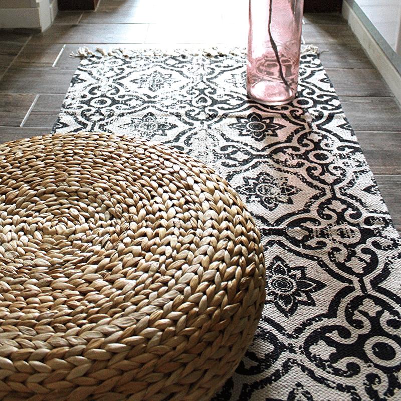 tapis couloir en coton marokka - Tapis Couloir