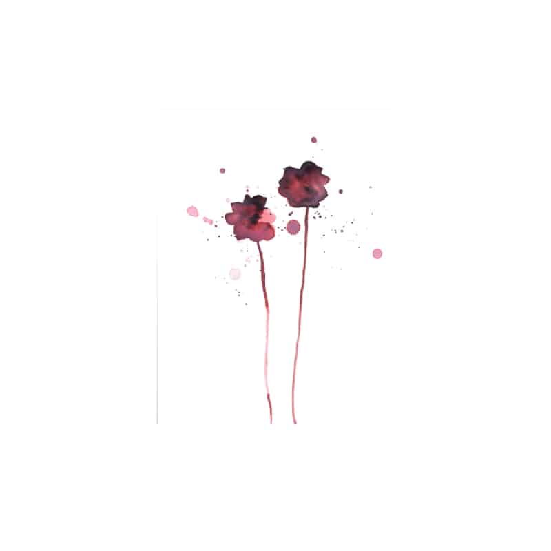 Affiche murale Flower par Bloomingville