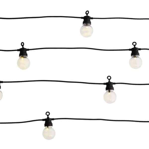 Guirlande lumineuse guinguette noire Madam Stoltz