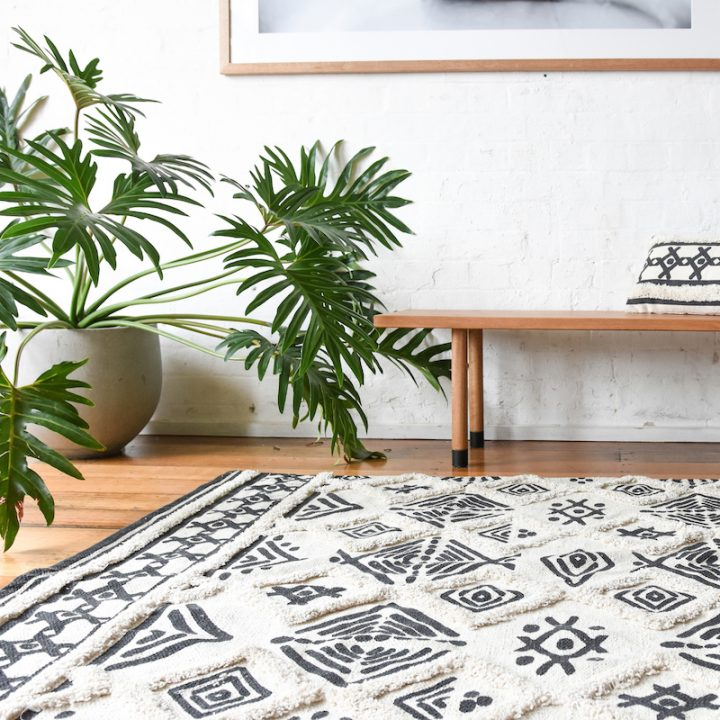 Tapis style berb re 90x150cm hemoon maison d coration for Decoration murale berbere