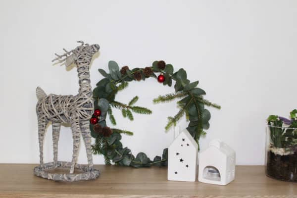DIY de Noël : La couronne décorative !